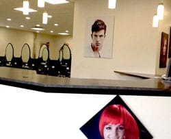 The new salon features state of the art equipment and high quality professional products.