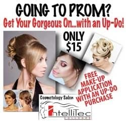 Come in for a day of pampering to get you picture-perfect for prom night.