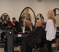 Students in IntelliTec's Cosmetology Program learn Matrix methodology