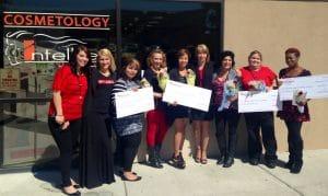 Six Cosmetology Students at IntelliTec College of Pueblo Receive $1,000 Matrix Scholarships.