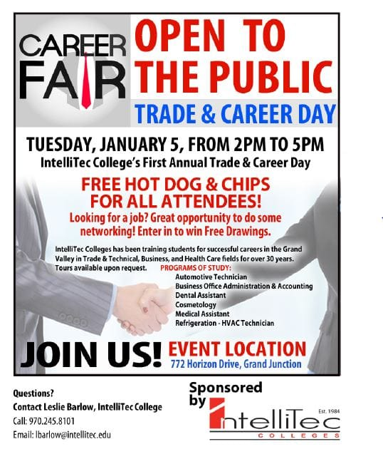 New Career Day Flyer