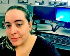 Rebecca Annis computer network systems technician graduate