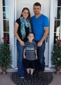TruFit Personal Trainer Brett Stralo and family.