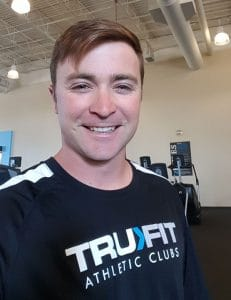 Personal Trainer Brett Stralo puts in long days at Tru Fit Athletic Club, but he loves every minute of it. He is a graduate of the Personal Training program at IntelliTec College in Colorado Springs.