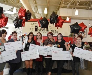 Matrix Scholarship Winners - IntelliTec Cosmetology