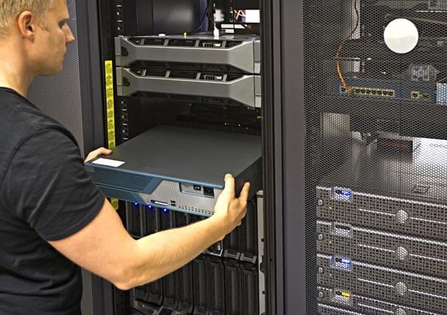 Computer Network Administrator Server Rack