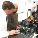 Computer Systems Technician students learn in small classroom settings with industry experienced instructors.