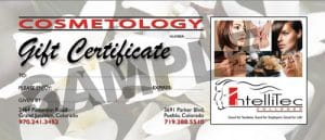 Gift Certificate - IntelliTec Cosmetology Salon