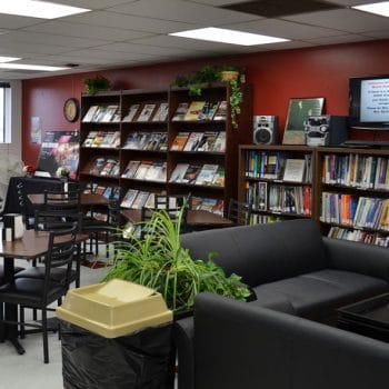 The Grand Junction Learning Resource Center offers students a place to get a snack and study. The LRC has programmatic reading and learning materials specifically available to students.
