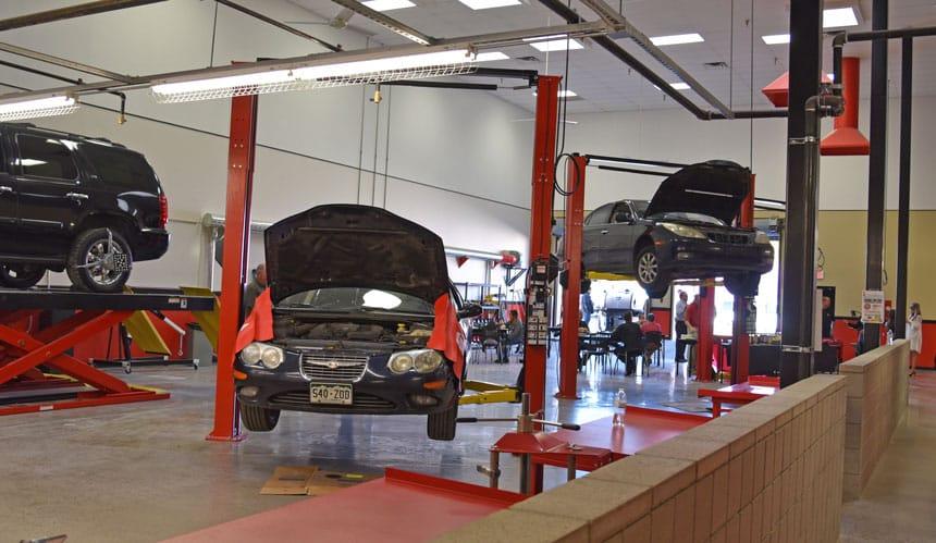 Automotive technician school intellitec college for Electric motor repair albuquerque