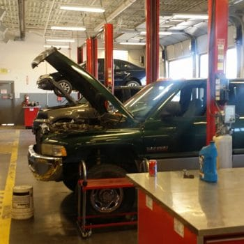 IntelliTec's Automotive bays allow Pueblo students to use snap-on tools and diagnostics while training hands-on in a real-world environment.