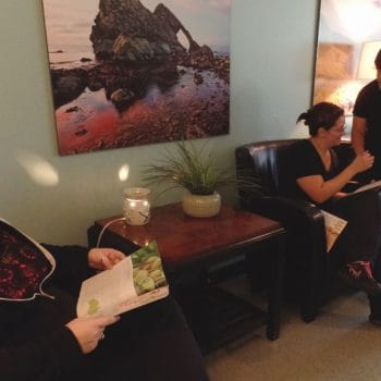 The massage clinic in Pueblo is run by massage students. In addition to providing massages to clients, front desk operations are learned hands-on.