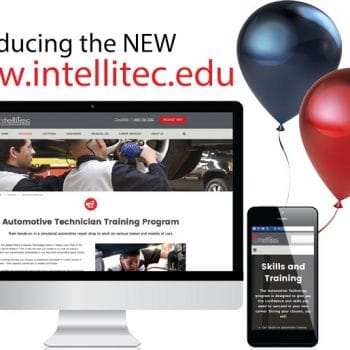 IntelliTec College launches new website January 23, 2017.