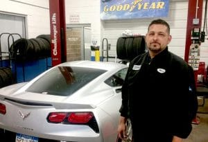 Automotive Technician program graduate, Marc Quini, lands a job at Spradley Chevrolet and is quickly promoted to Lead Technician.