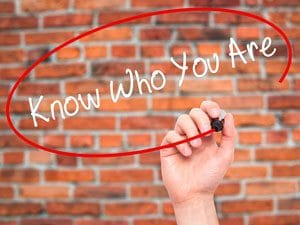 Know Who You Are - New Career Concept