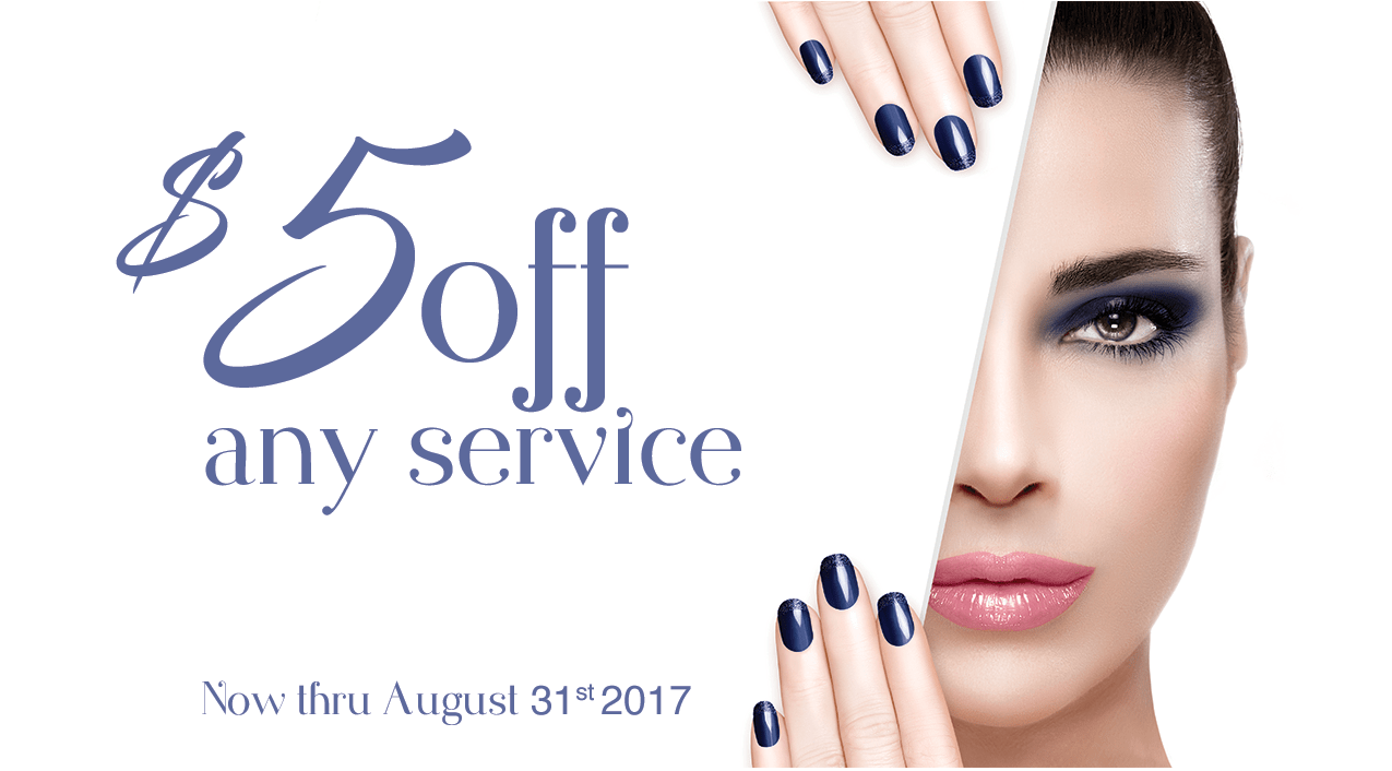 $5 off any service - Grand Junction location only