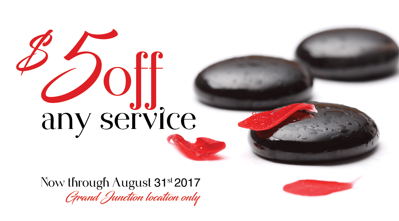 $5 off any service - Grand Junction location only.