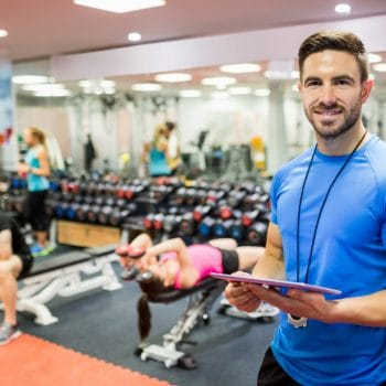 working as a personal trainer