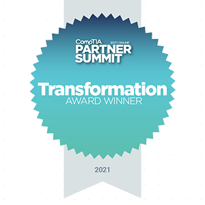 CompTIA Transformation Award Badge